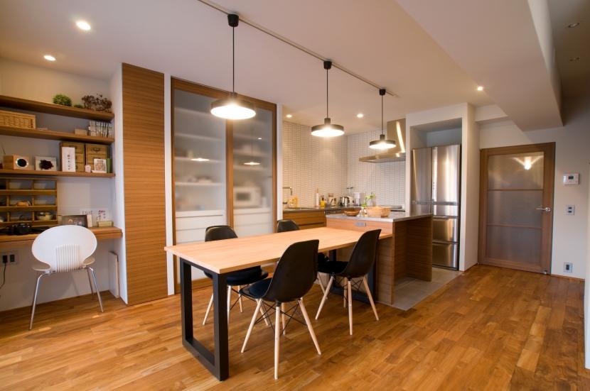 リフォーム・リノベーション会社:リノベーションカーサ「心地良いカフェのような空間(リノベーション)」
