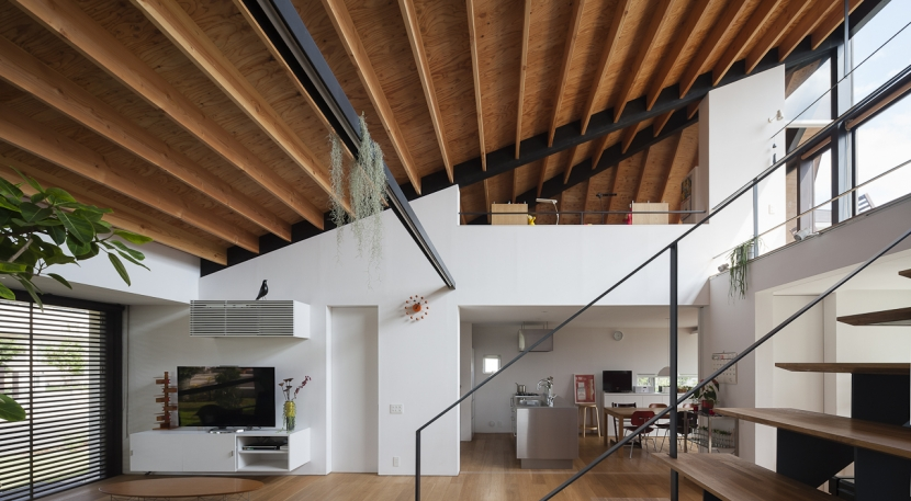 建築家:NAOI「大屋根のいえ」