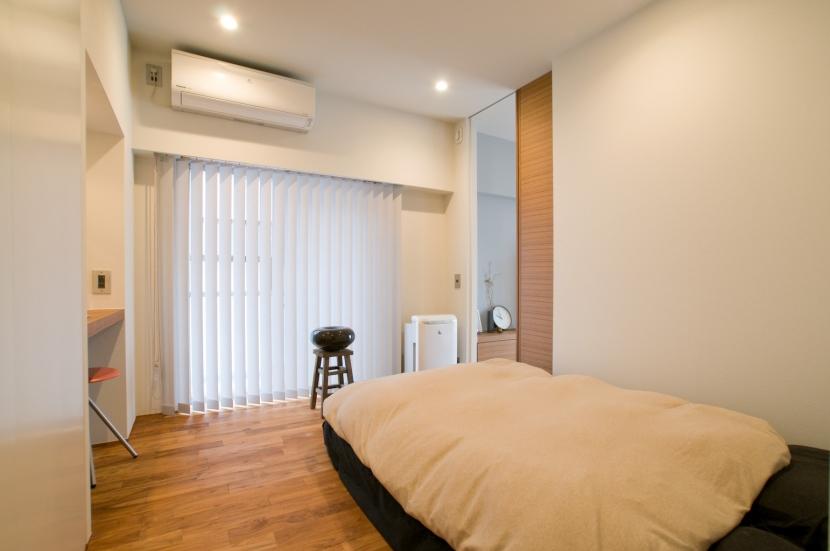 心地良いカフェのような空間(リノベーション)の部屋 主寝室