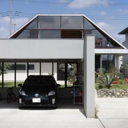 駐車場 (大屋根のいえ)