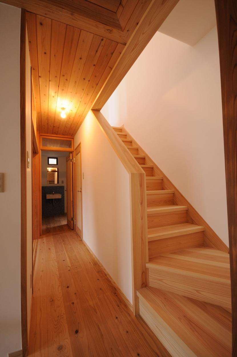 船岡山の家の写真 ホール
