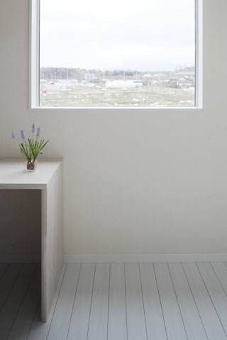 しろくてしかくい家の写真 寝室5