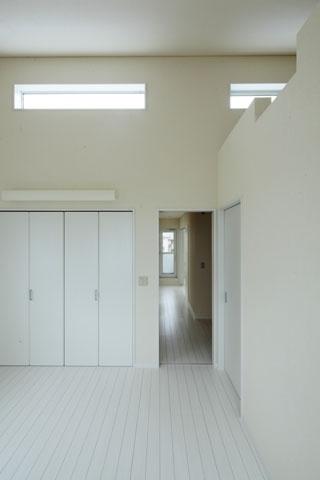 しろくてしかくい家の写真 寝室3