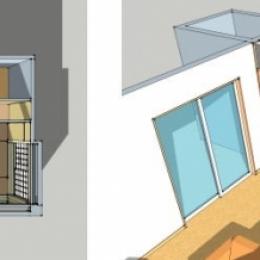 上尾の家-二世帯住宅へのリフォーム (ダイニング・キッチン)