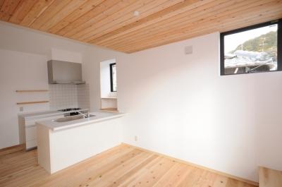 船岡山の家 (ダイニングキッチン)