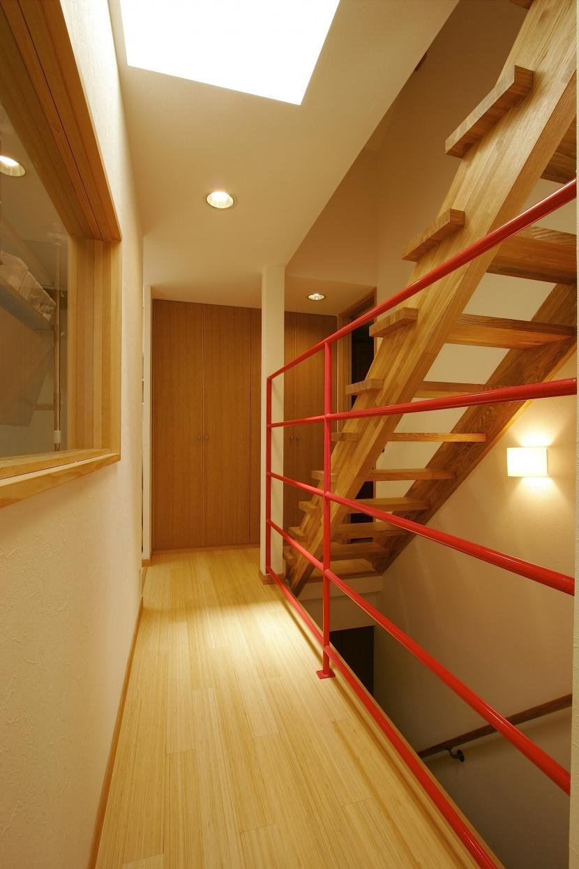 MS-Houseの部屋 廊下+階段