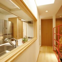 MS-House (廊下+階段+キッチン)