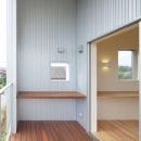 晴耕雨読の家の写真 ルーフバルコニー