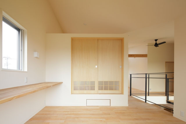 晴耕雨読の家の部屋 フリースペース1