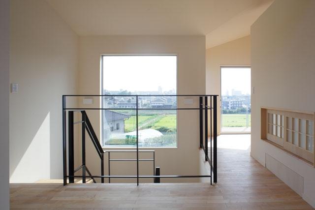 晴耕雨読の家の部屋 階段4