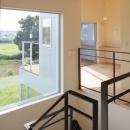 晴耕雨読の家の写真 階段3