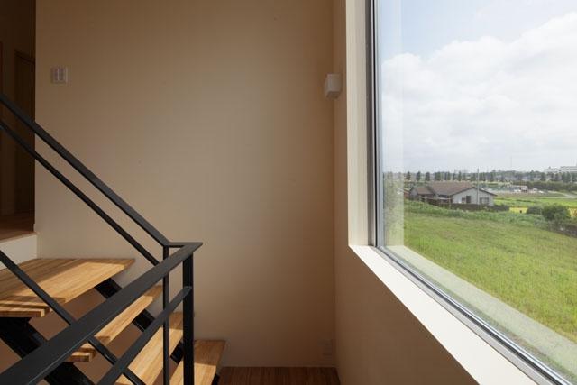 晴耕雨読の家の部屋 階段2