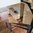 晴耕雨読の家の写真 階段1
