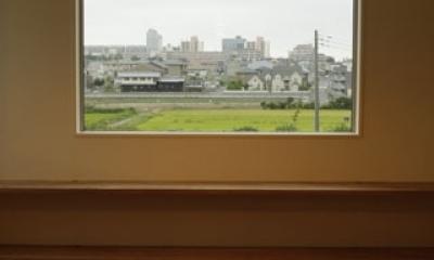 晴耕雨読の家 (リビングダイニング1)