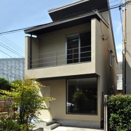 中野南台の住宅 (外観)
