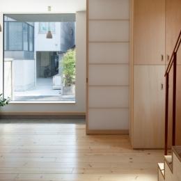 中野南台の住宅