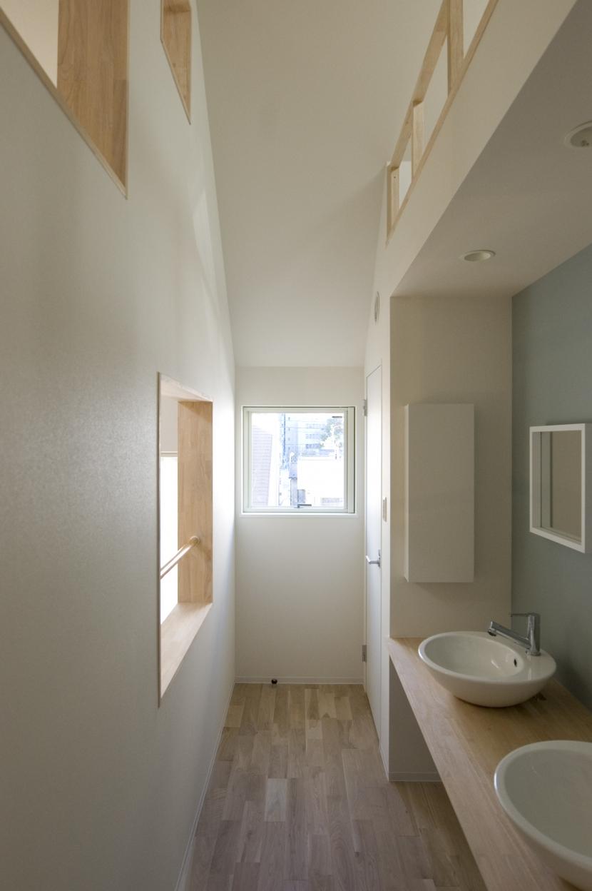 木場の住宅の部屋 洗面コーナー