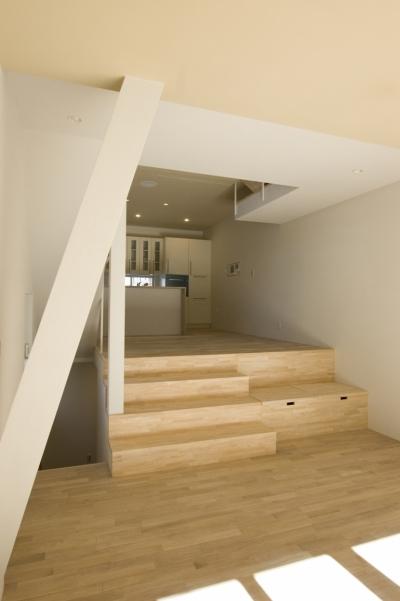 木場の住宅 (ダイニングキッチン)