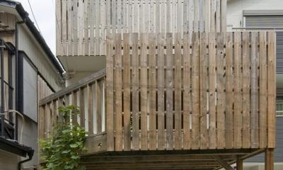 木場の住宅 (外観)
