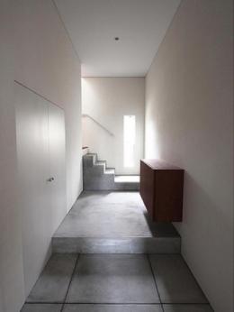 神奈川の家 (玄関/玄関ホール)