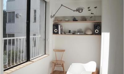 宮崎台のビンテージマンション1 (光溢れる書斎)