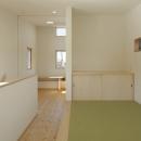 2つ屋根の家の写真 ゲスト用和室
