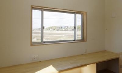 2つ屋根の家 (作業室2)