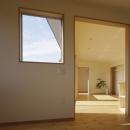 2つ屋根の家の写真 寝室