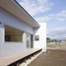 2つ屋根の家の写真 外観8