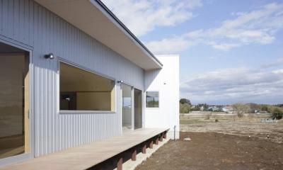 2つ屋根の家 (外観8)
