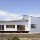 2つ屋根の家の写真 外観7