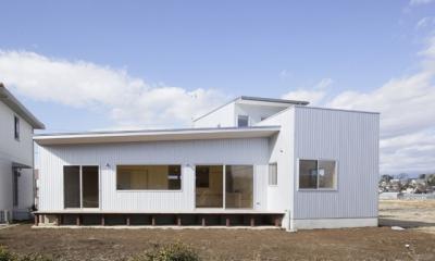 2つ屋根の家 (外観7)