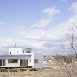 2つ屋根の家 (外観6)