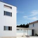 2つ屋根の家