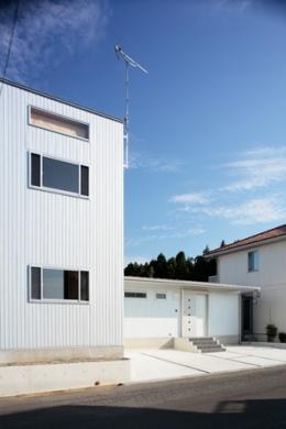 2つ屋根の家 (外観5)