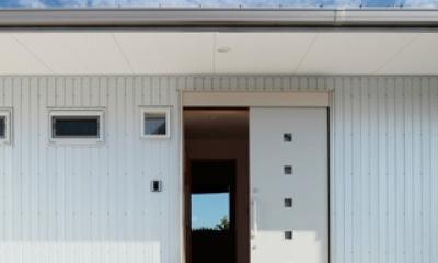2つ屋根の家 (外観3)