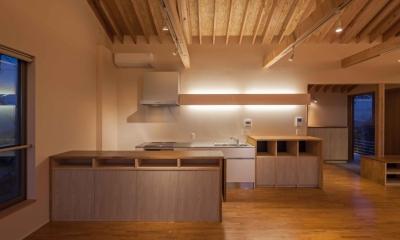 伊豆の国の家 (キッチン)