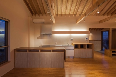 キッチン (伊豆の国の家)