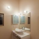 伊豆の国の家の写真 洗面所