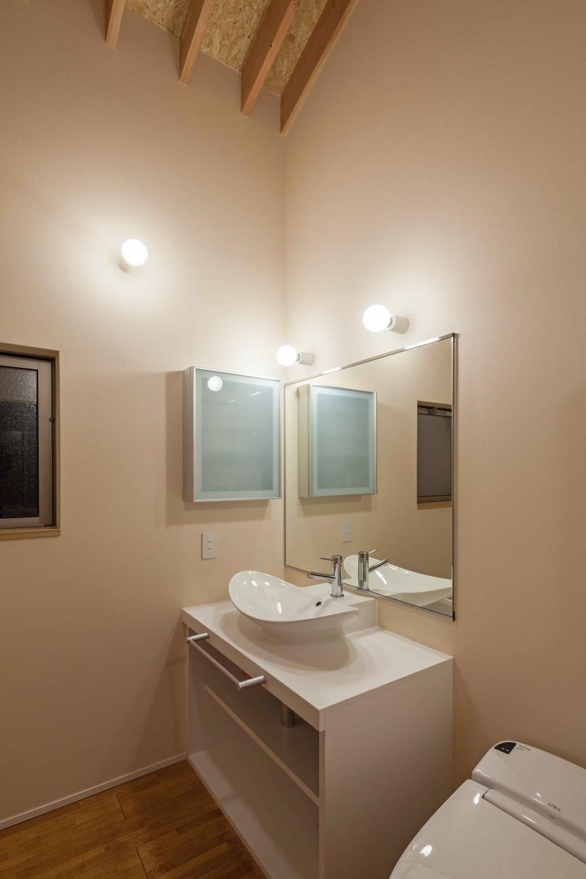 伊豆の国の家の部屋 洗面所