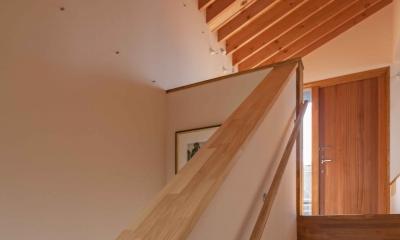 伊豆の国の家 (階段吹き抜け)