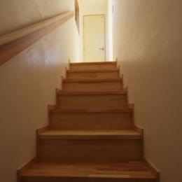 凸(でこ)の家 (階段)