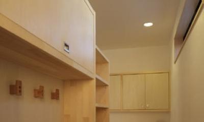 凸(でこ)の家 (キッチンバックヤード1)