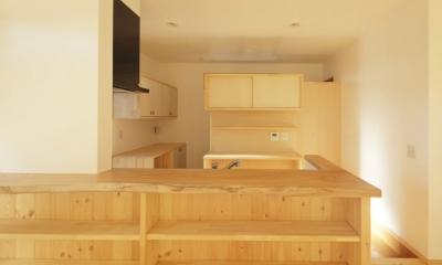 凸(でこ)の家 (キッチン1)