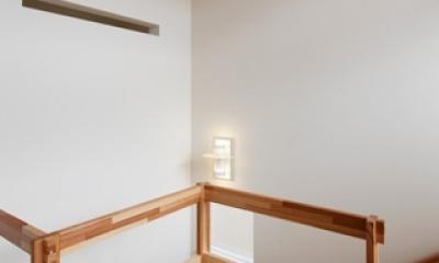 2人と2匹の家 (階段手摺1)