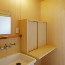 2人と2匹の家の写真 洗面脱衣室