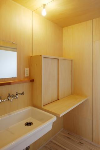 2人と2匹の家の部屋 洗面脱衣室