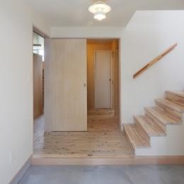 2人と2匹の家 (土間玄関4)