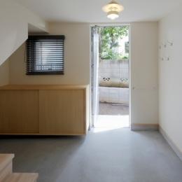 2人と2匹の家 (土間玄関1)
