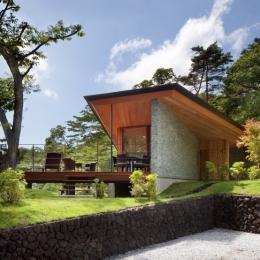 千ヶ滝山荘 (外観-日中2)